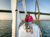 anniversary sailing charter harbor tour dinner