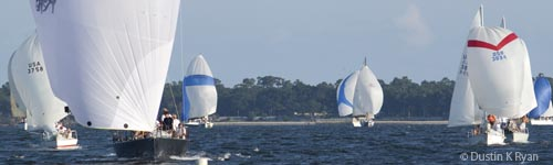Charleston yacht racing sailing yacht Fate